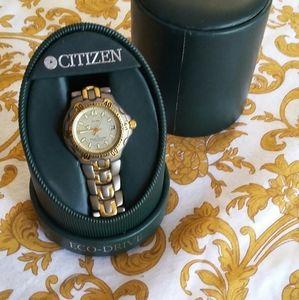 Like New Citizen Eco Drive Watch Solar tech WR200